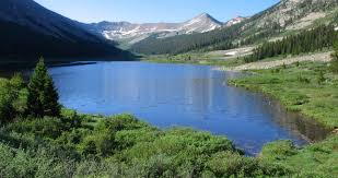 colorado lakes images Grizzly lake my hike on grizzly gulch road near st elmo colorado jpg