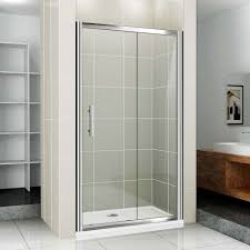 Frosted Frameless Shower Doors by Bathroom Double Sliding Doors Sliding Bathroom Door Home Depot