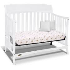 Cribs That Convert Into Full Size Beds by Graco Lennon 4 In 1 Convertible Crib Espresso Walmart Com