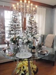 sweet christmas and new years party decorations ideas with silver