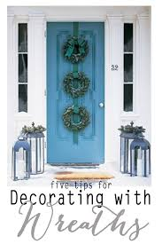 five ideas for decorating with wreaths pink peppermint design