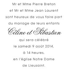 carte mariage texte d écriture remerciement invited to