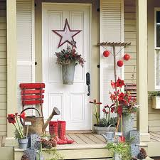front porch decorating ideas for christmas one hundred dollars a