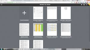 Apple Spreadsheet Software Iwork For Icloud Beta U2014 First Look And Early Review