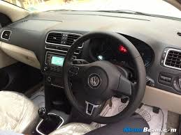 volkswagen polo interior volkswagen makes front airbags standard on all polo variants