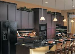 Ideas For Painting Kitchen Cabinets Kitchen Amusing Painted Kitchen Cabinets With Black Appliances