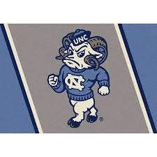 College Rug North Carolina Tar Heels Collegiate Spirit Rug Mascot Free Shipping