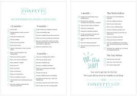what to plan for a wedding the ultimate wedding planning checklist confetti co uk