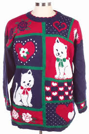 catsparella the sweater store vintage cat christmas sweater giveaway