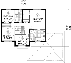 contemporary style house plan 4 beds 2 baths 2145 sq ft plan 25