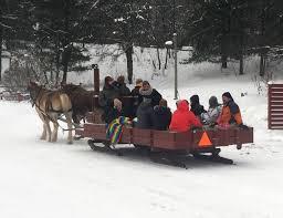 sleigh rides ranch rudolf