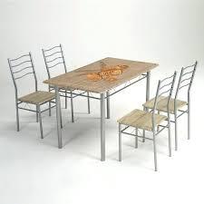 chaise et table de cuisine table cuisine 4 chaises superbe chaise de cuisine conforama 4