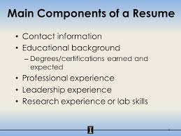 Lab Experience Resume University Of Illinois At Urbana Champaign The Resume Your First