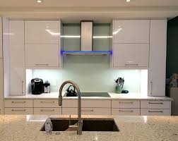 can you paint glass kitchen cabinets back painted glass backsplash contemporary kitchen