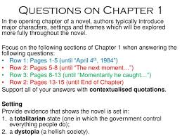 themes about 1984 ppt questions on chapter 1 powerpoint presentation id 7077023