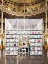 set architects constructs pop up newsstand inside the acquario romano