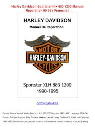 100 owners manual harley davidson 883 totw motorcycle