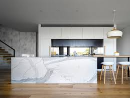 kitchen luxurious light and white scandinavian marble kitchen