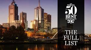 50 best restaurants 2017 the full list of world u0027s best restaurants