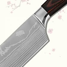 aliexpress com buy 7 inch santoku kitchen knife single goods