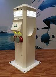 marina power and lighting marina electrical equipment commodore ss power pedestal models cd50200