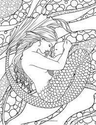 fairy mermaid coloring pages realistic mermaid coloring pages download and print for free