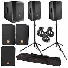 jbl home theater speakers 2 jbl prx815w two way 15