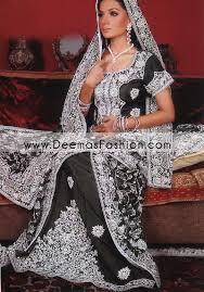 latest pakistani wedding dress u2013 black silver lehnga latest