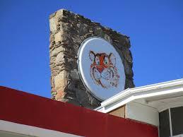 exxon mobil gas tiger mascot sign old gas station u0026 aut u2026 flickr