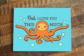 dad i love you this much u2013 father u0027s day or dad birthday card