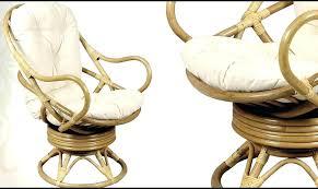 chaise de bureau ronde chaise de bureau ronde coussin pour fauteuil en rotin ou osier