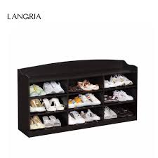 langria brand 9cube shoe rack composite mdf wood and composite