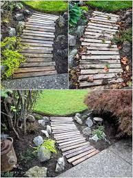 Backyard Walkway Ideas by 41 Ingenious And Beautiful Diy Garden Path Ideas To Realize In