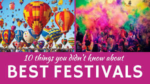 best festivals in the world 10 celebrations and national