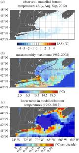 Cape Cod Water Temp - marine disease surveillance tools philosophical transactions of