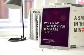 a style guide template to start your next webflow project