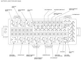schematic for the fuse box on a 1999 ford econoline e150 van