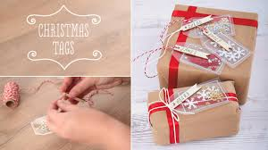 how to make shakeable christmas gift tags craft techniques youtube