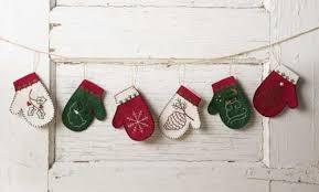 mitten ornaments kit keepsake quilting