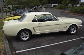 1965 yellow mustang springtime yellow 1965 ford mustang hardtop mustangattitude com