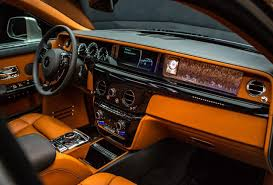 rolls royce inside with new rolls royce phantom you can commission everything even