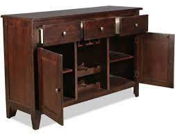 Solid Wood Buffet Table Cabinet Dark Cherry Buffet Unforeseen Dark Cherry Wood Buffet