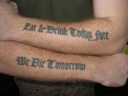 esratigerp tattoos of quotes about