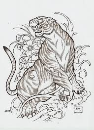 japanese style tiger i want this done to make up the rest of my