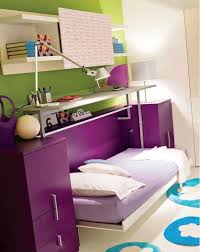 Purple Colour In Bedroom - transformation to bed multifunctional furniture for teen with