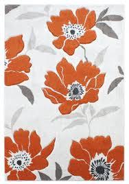 Modern Orange Rugs by Cream And Orange Rug Roselawnlutheran