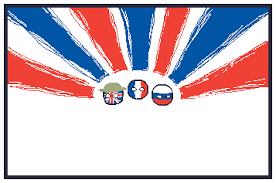 Blue White And Red Flags Blue White And Red The Triple Entente Polandballart
