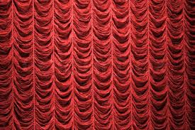 Theater Drop Curtain Red Curtain Background Texture Stock Photo Colourbox