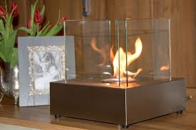1green square table style bio ethanol fireplace stainless steel