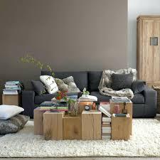 deco avec canapé gris idee deco mur salon decoration salon avec canape gris on d